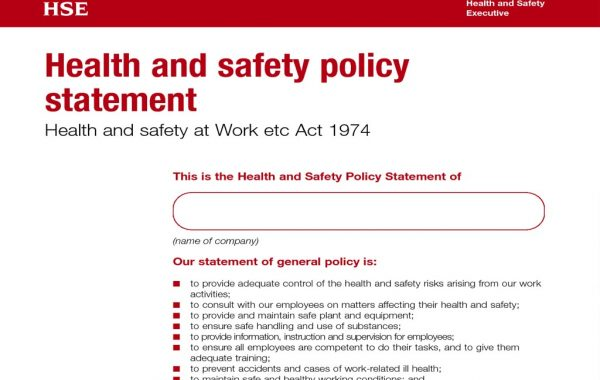Health & Safety Statements
